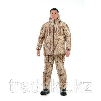 Костюм зимний для охоты и рыбалки NovaTex Лесной (алова, камыш), размер 60-62