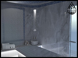 3D визуализация турецких бань (хаммамов)