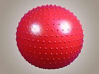 L 0575 b Мяч гимнастический игольчатый (синий) в упак. 12 шт.