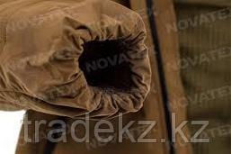 Куртка, парка зимняя Novatex Таганай (ткань граф, коричневый), размер 56-58, фото 3