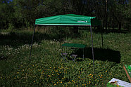 Шатер раздвижной зеленого цвета, фото 3