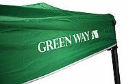 Шатер раздвижной зеленого цвета, фото 4