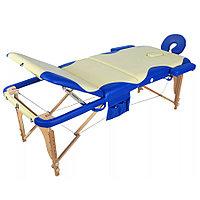 Массажный стол складной деревянный JF-AY01 2-х секционный