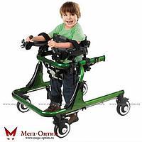 Опоры-ходунки ортопедические регулируемые по высоте на 4-х колёсах, детские HMP-KA4200