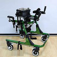 Опоры-ходунки ортопедические регулируемые по высоте на 4-х колёсах, подростковые HMP-KA4200