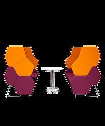 Мягкая мебель для приемных серия HEXA