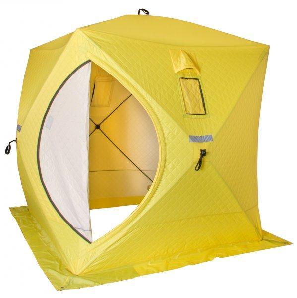 Палатка утепленная зимняя Куб 1,5×1,5 Helios