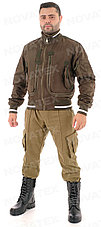 Куртка демисезонная Novatex Бомбер (оксфорд, орех), размер 48-50, фото 2
