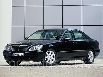 Переходные рамки на Mercedes-Benz S-class (2004-2005) W220