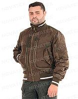 Куртка демисезонная Novatex Бомбер (оксфорд, орех), размер 52-54