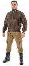 Куртка демисезонная Novatex Бомбер (оксфорд, орех), размер 56-58, фото 2