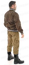 Куртка демисезонная Novatex Бомбер (оксфорд, орех), размер 56-58, фото 3