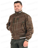 Куртка демисезонная Novatex Бомбер (оксфорд, орех), размер 60-62