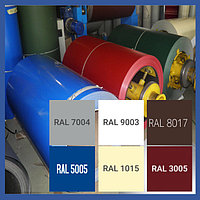 Рулон оцинкованный с полимерным покрытием RAL 3005
