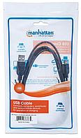 Кабель ​​USB2.0 type AM- Mini-BM Manhattan 1.8м
