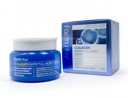 Крем для лица FarmStay Collagen Water Full Moist Cream.