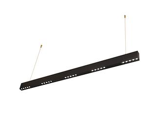 Светильник подвесной LED ENIF 24W 4000K BLACK 119.4см