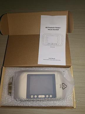 Дверной звонок A32D Digital Door Viewer HD  дверной звонок., фото 2