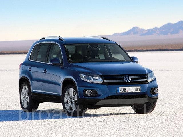 Переходные рамки на  Volkswagen Tiguan Галоген (2010-2012) Замена без вскрытия фары