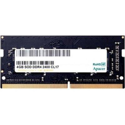 Модуль памяти для ноутбука, Apacer, ES.04G2T.KFH DDR4, 4 GB, SO-DIMM 2400MHz, CL17