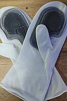 Силиконовые варежки для мытья посуды