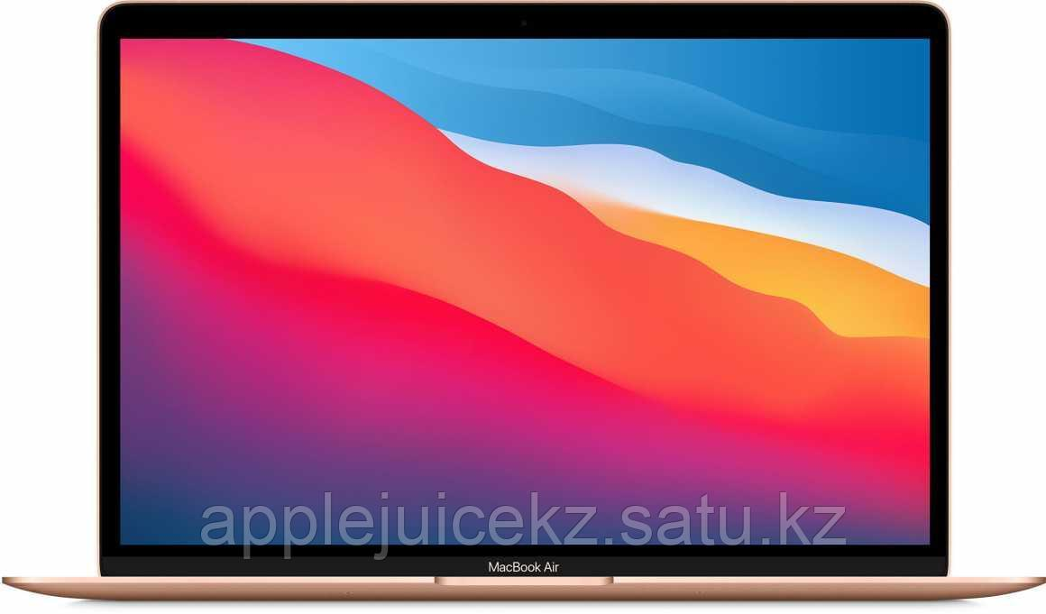 Apple MacBook Air (M1, 2020) 8 ГБ, 256 ГБ SSD,  золотой
