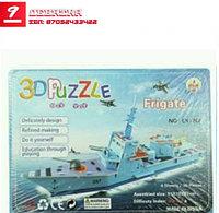 3D Puzzle, 3д паззл - корабль