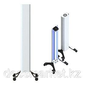 Бактерицидный рециркулятор, Clean AIR, Передвижной, 4 колесика, выключатель, Бактерицидная лампа 1шт. 30 W