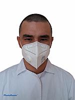 Респиратор N95 FFP2 (сертификат СТ-KZ, ГОСТ 12.4.294-2015)