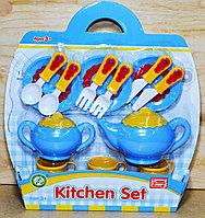 NF696-21 Чайный сервис Kitchen set на картонке, фото 1
