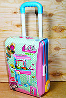 678-206B ЛОЛ кухня в чемодане на колесиках трансформер 2в1 30*21см, фото 1