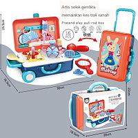 678-118A Студия красоты в чемодане на колесиках, фото 1
