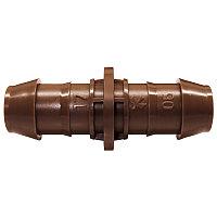 Прямой штуцерный соединитель шлангов капельного полива XFF Dripline Rain Bird (муфта) 17mm