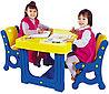 Парта с двумя стульями DS-905 Haenim Toys