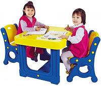 Парта с двумя стульями DS-905 Haenim Toys, фото 1