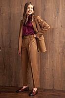 Женские осенние коричневые брюки Nova Line 4750 42р.