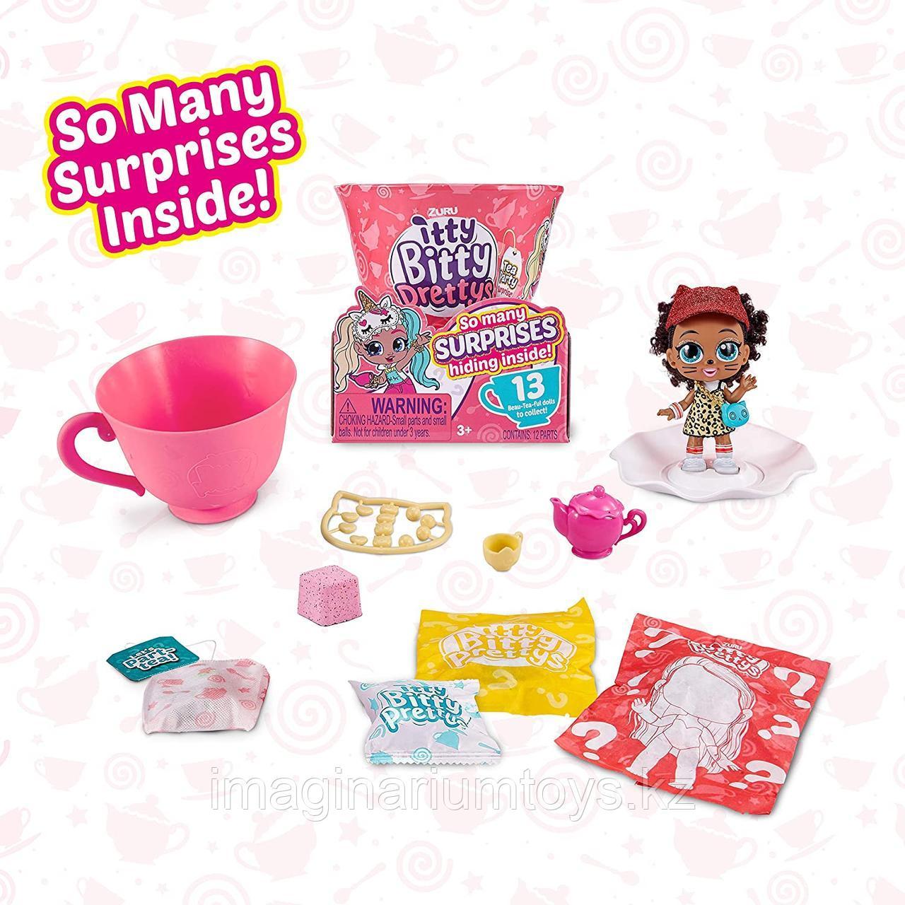 Чайная чашка с куклой Itty Bitty Prettys мини - фото 4