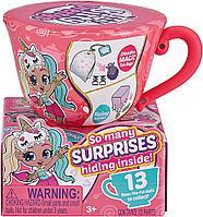 Чайная чашка с куклой Itty Bitty Prettys мини