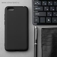 Чехол Innovation, для Huawei Y5 Prime (2018)/7A, силиконовый, матовый, черный