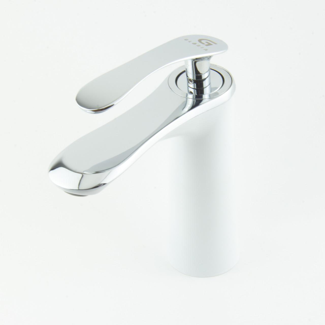 Смеситель для раковины GLORIA SmartFlow® BR008 белый