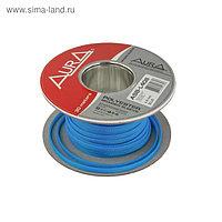 Кабельная оплётка Aura ASB-L408, полиэстер, 4-8 мм, голубой, 30 м