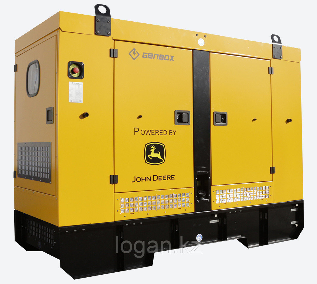 Дизельный генератор Genbox JD100(S)