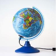 Глобус политический «Классик Евро» диаметр 150 мм с подсветкой, фото 1