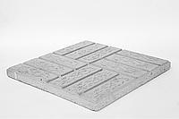 "Тротуарная плитка ""Паркет"", 400*400*30 мм"