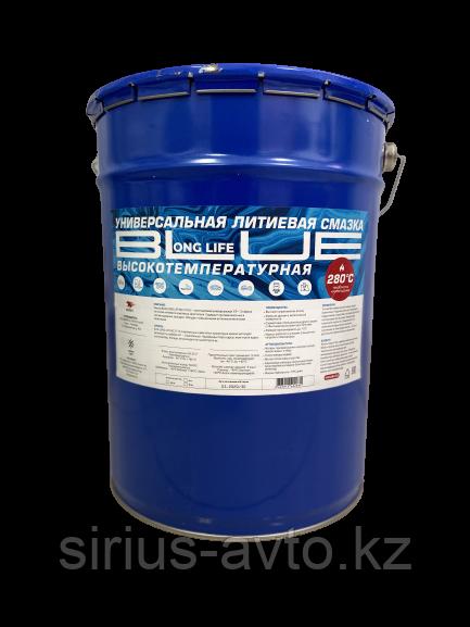ВМП АВТО Высокотемпературная смазка МС 1510 Blue (Литиевый комплекс) для подшипников, ведро 18 кг