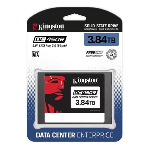Твердотельный накопитель SSD 3840 Gb SATA 6Gb/s Kingston DC450R