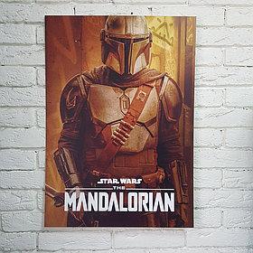Постер Мандалорец