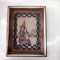 Кожаные картины ручной работы