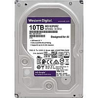"Жёсткий диск HDD 10 Tb SATA 6Gb/s Western Digital Purple 3.5"" 7200rpm 256Mb"
