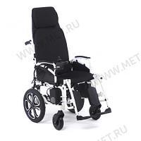 Электрическая кресло коляска, раскладываемая в горизонталь, с self-откидной спинкой.MET COMFORT 85, фото 1